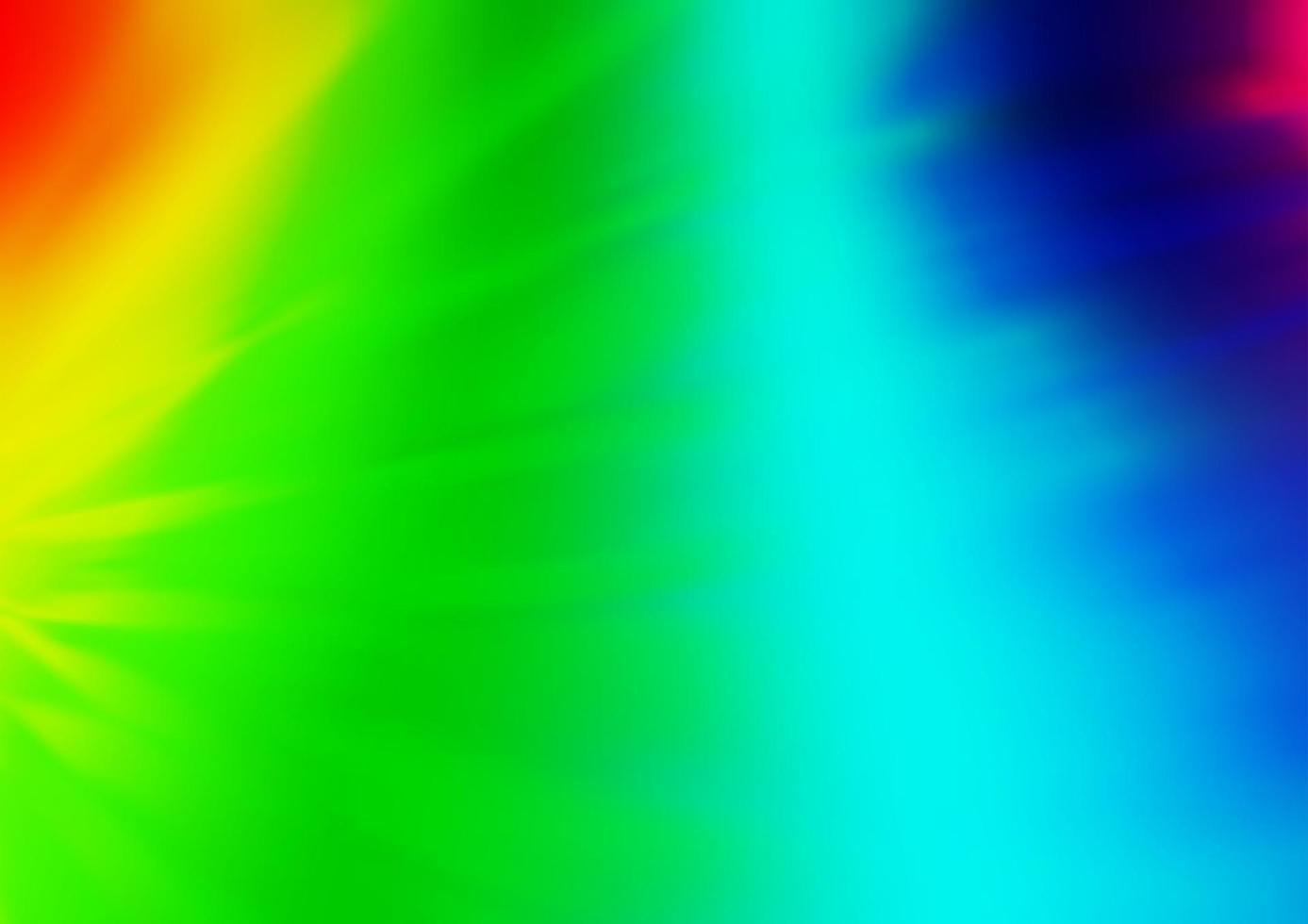 luz multicolor, arco-íris vetor abstrato turva padrão.