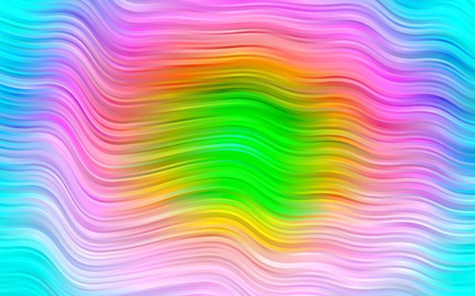 luz multicolorida, fundo do vetor do arco-íris com formas de bolha.