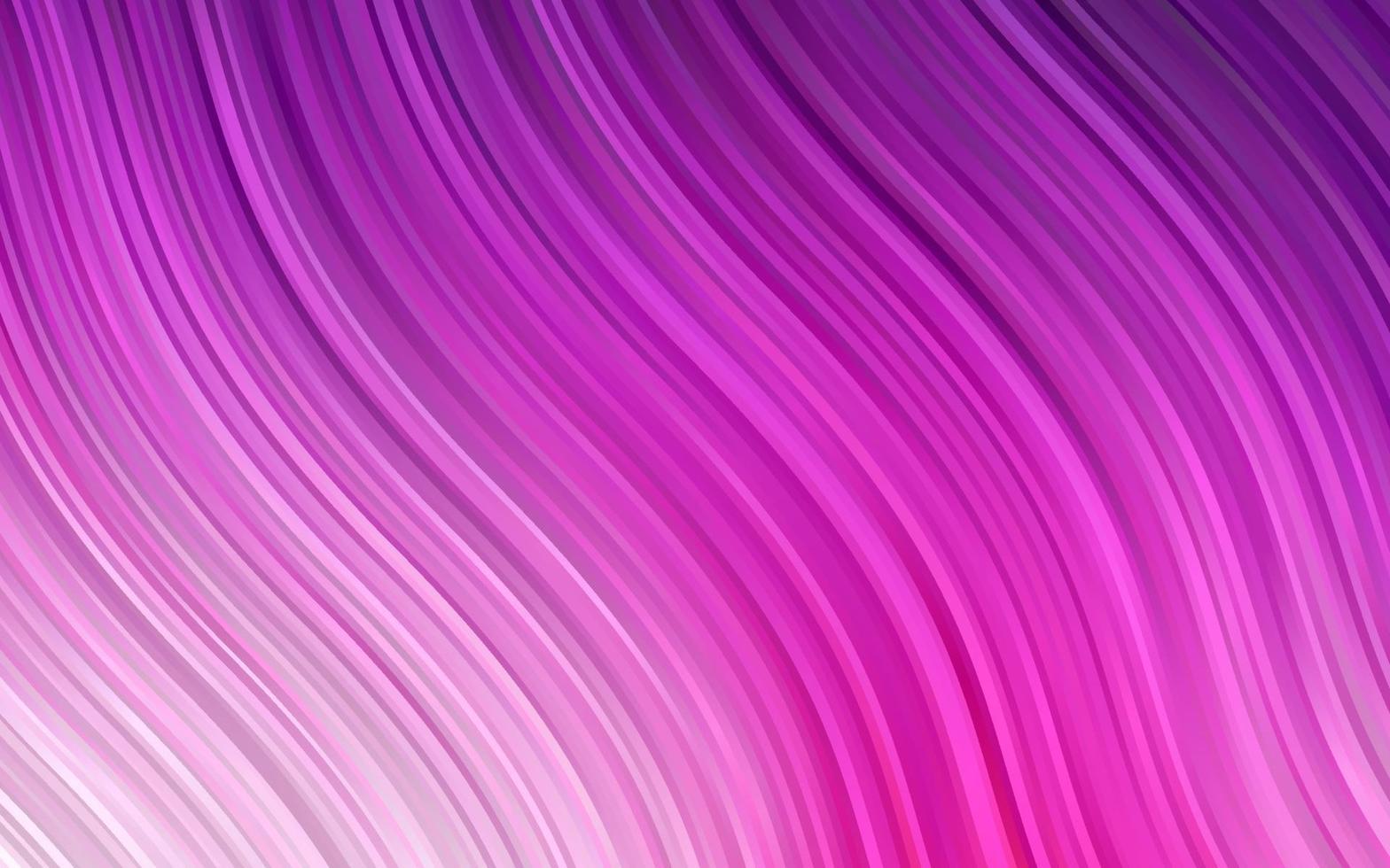 modelo de vetor rosa claro com linhas ovais.
