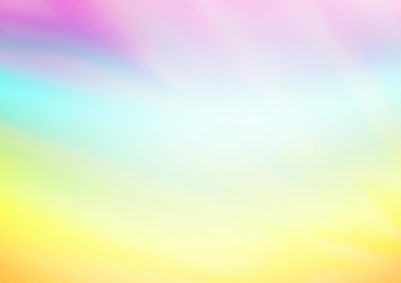 luz multicolorida, modelo abstrato brilhante de vetor de arco-íris.