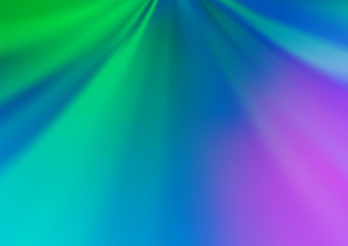 luz multicolor, padrão de bokeh moderno de vetor de arco-íris.