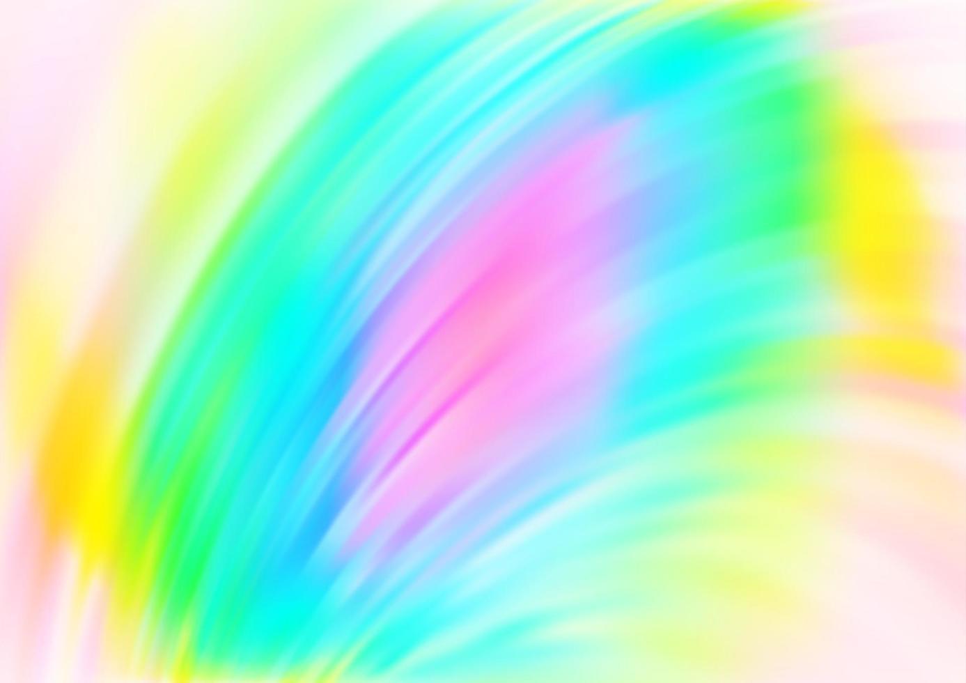luz multicolor, padrão de vetor de arco-íris com formas de lava.