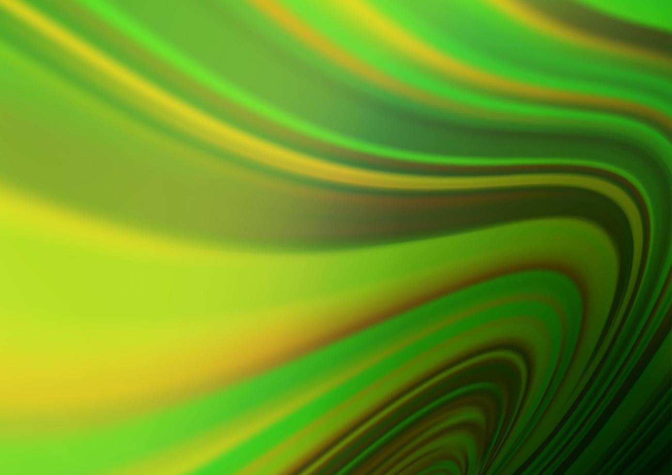 luz verde, amarelo vetor turva o fundo brilhante.
