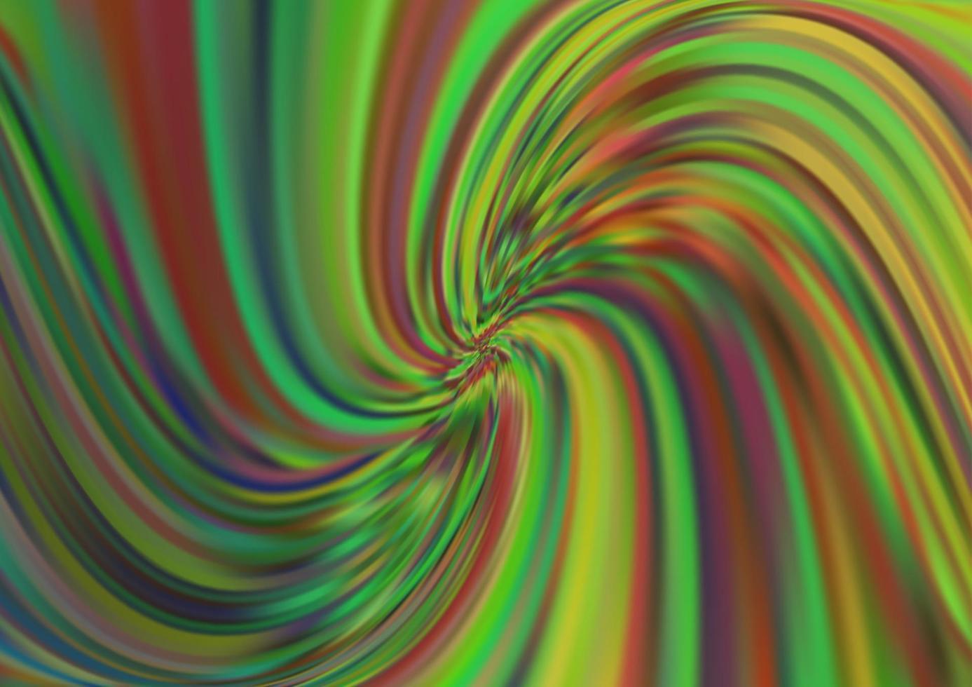 modelo de vetor verde e amarelo claro com formas de bolha.