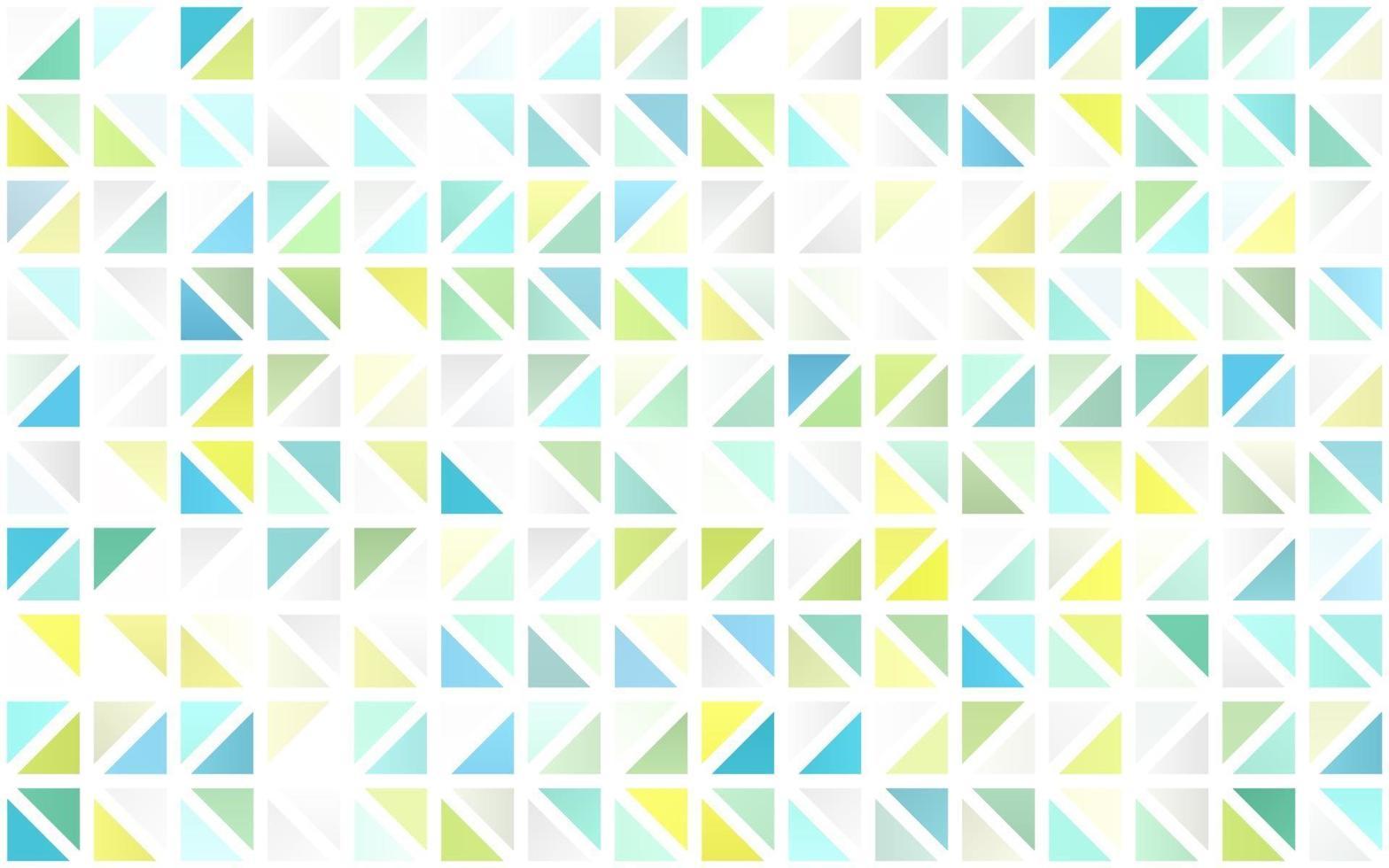 luz verde e amarelo padrão sem emenda de vetor em estilo poligonal.