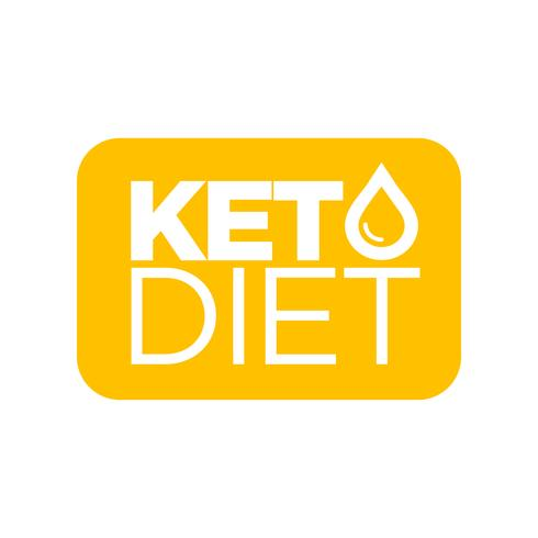 Keto Diet ícone vetor