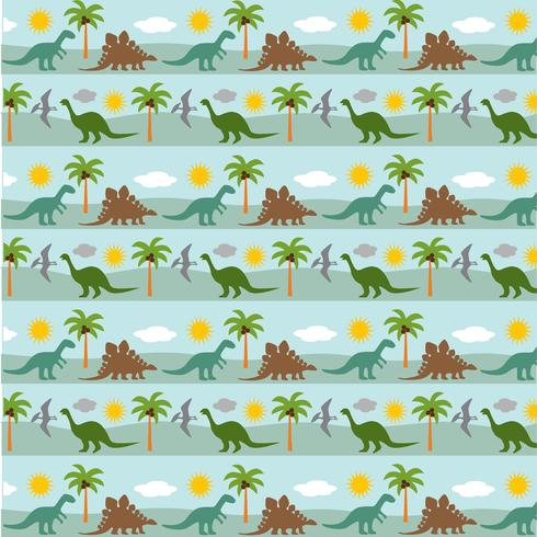 padrão de fundo de listra de dinossauro vetor
