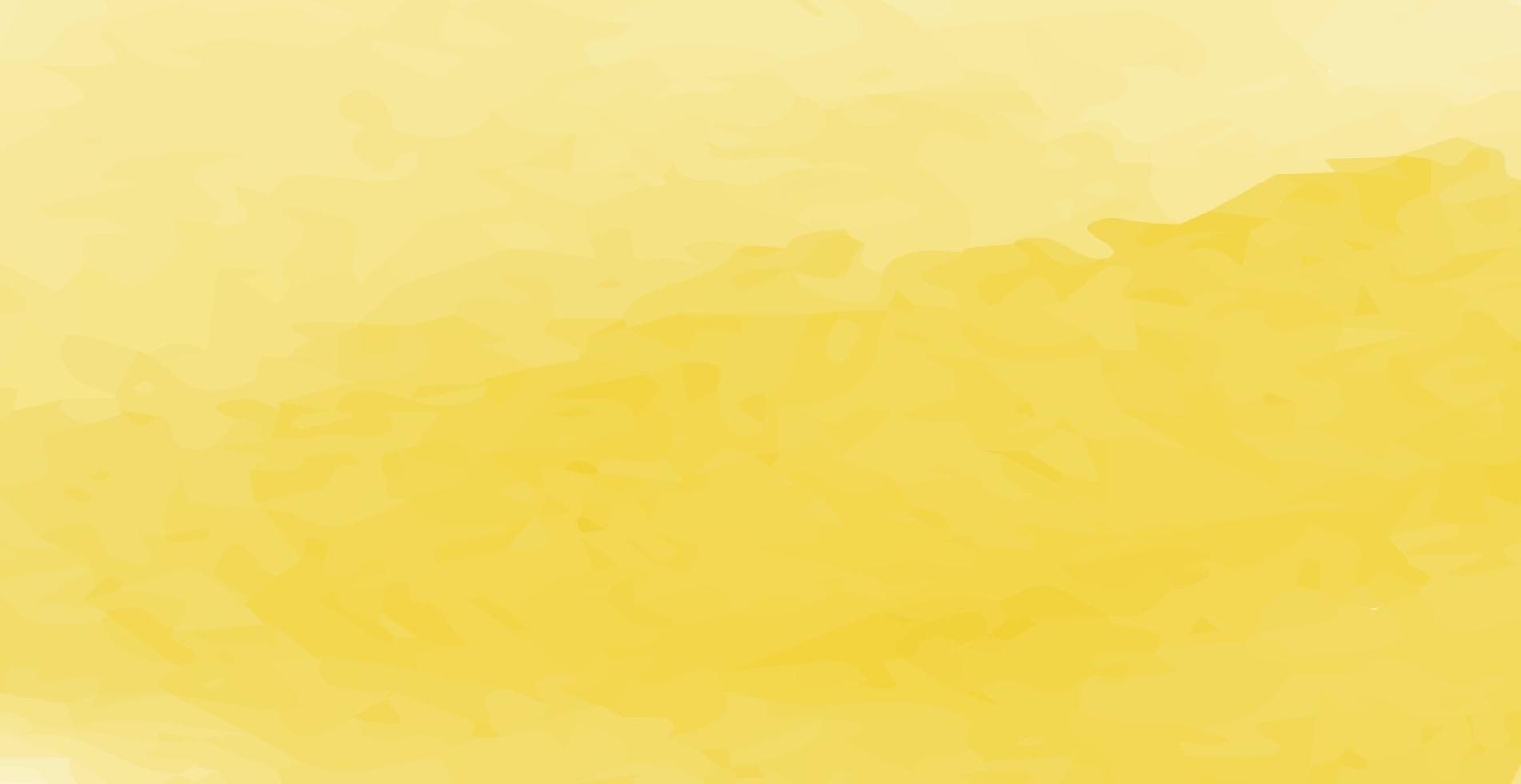 realista amarelo-laranja pintado em aquarela abstrato vetor