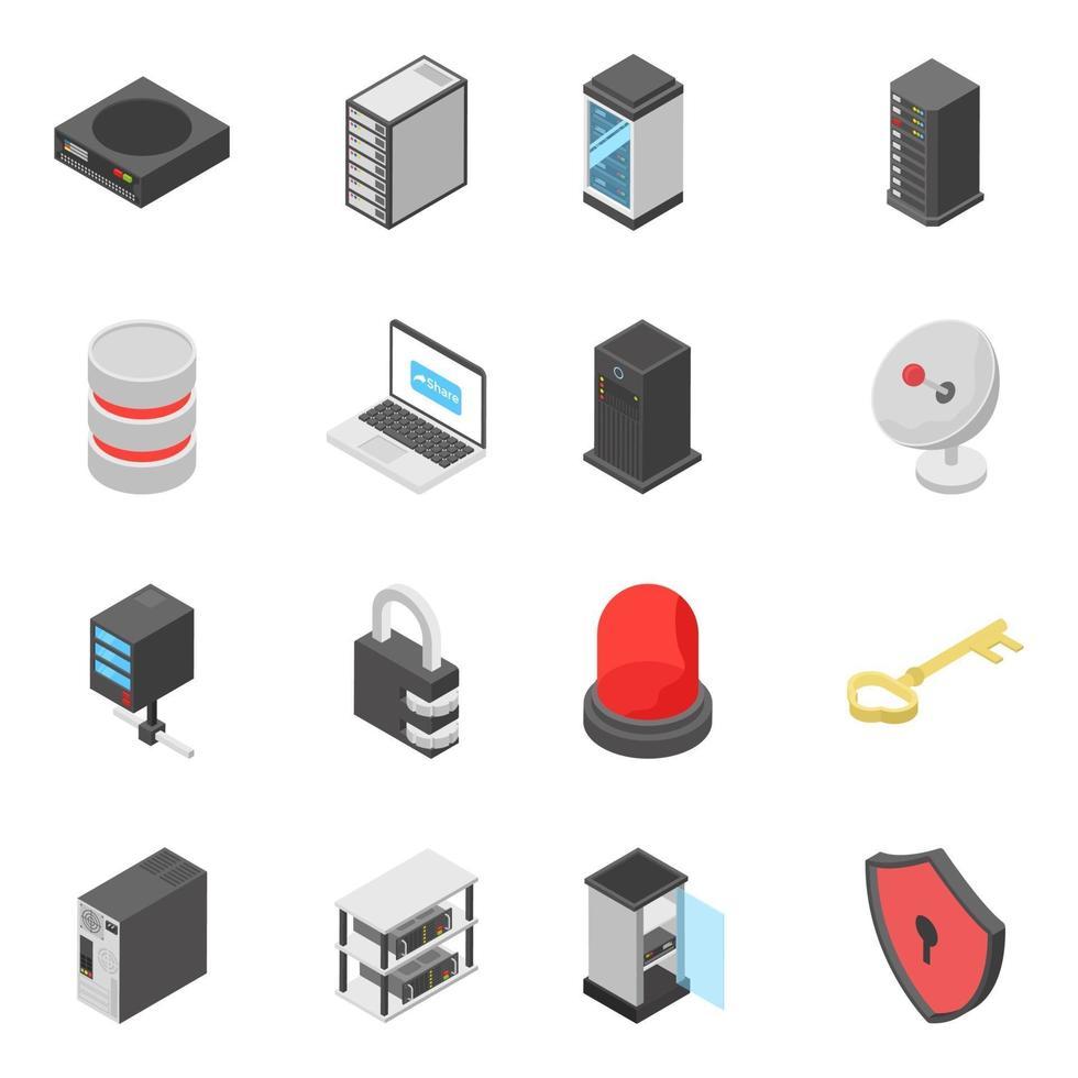 pacote de dispositivos de conexão vetor