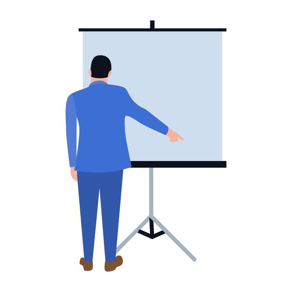 conceitos de apresentação de negócios vetor