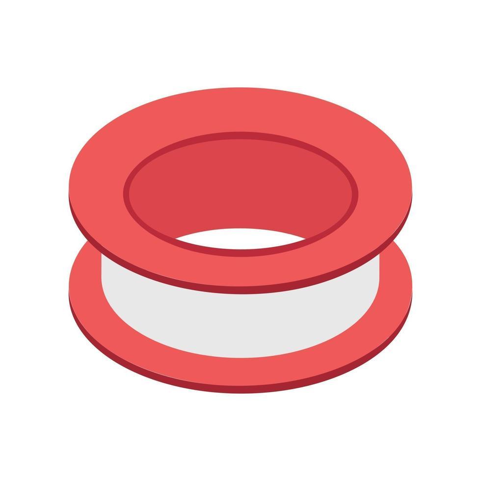 conceitos de acoplamento de tubo vetor