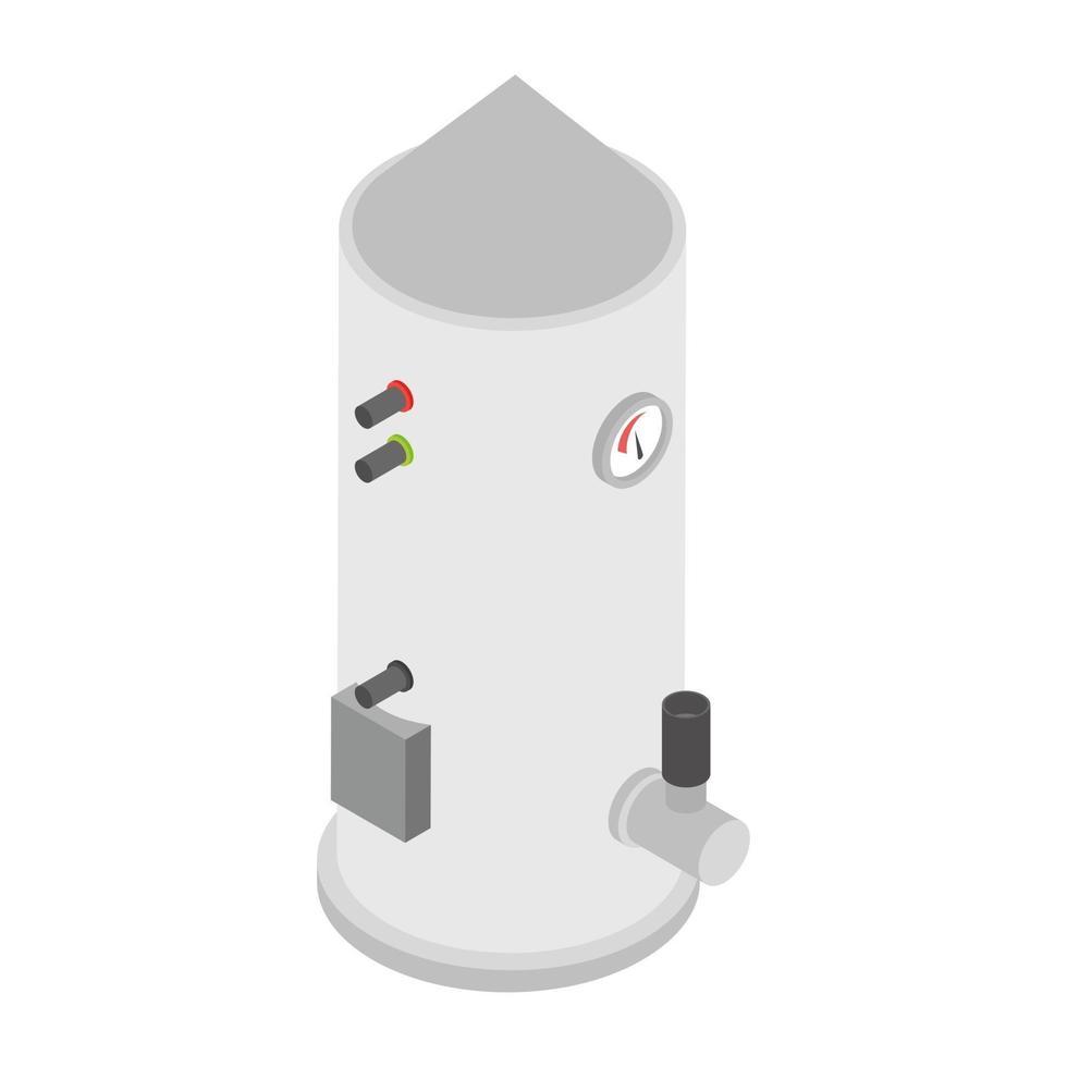 conceitos de gêiser elétrico vetor