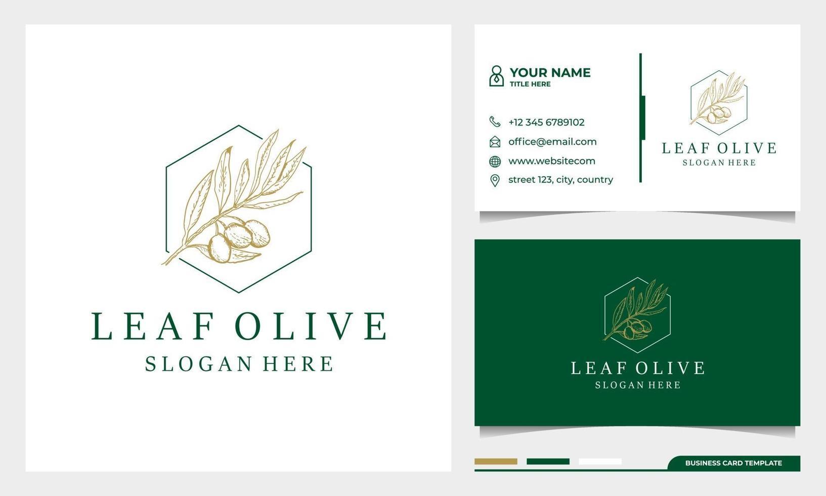 etiqueta desenhada à mão de modelo de design de logotipo de azeite extra virgem vetor