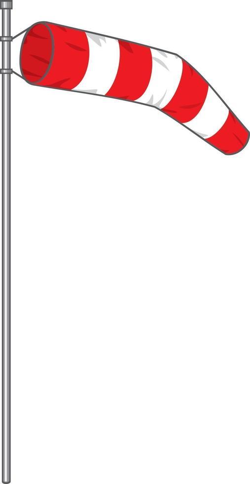 desenho de ícone de biruta vetor