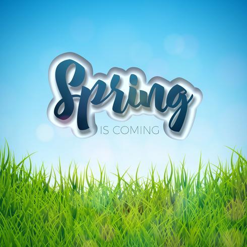 Projeto primavera vetor