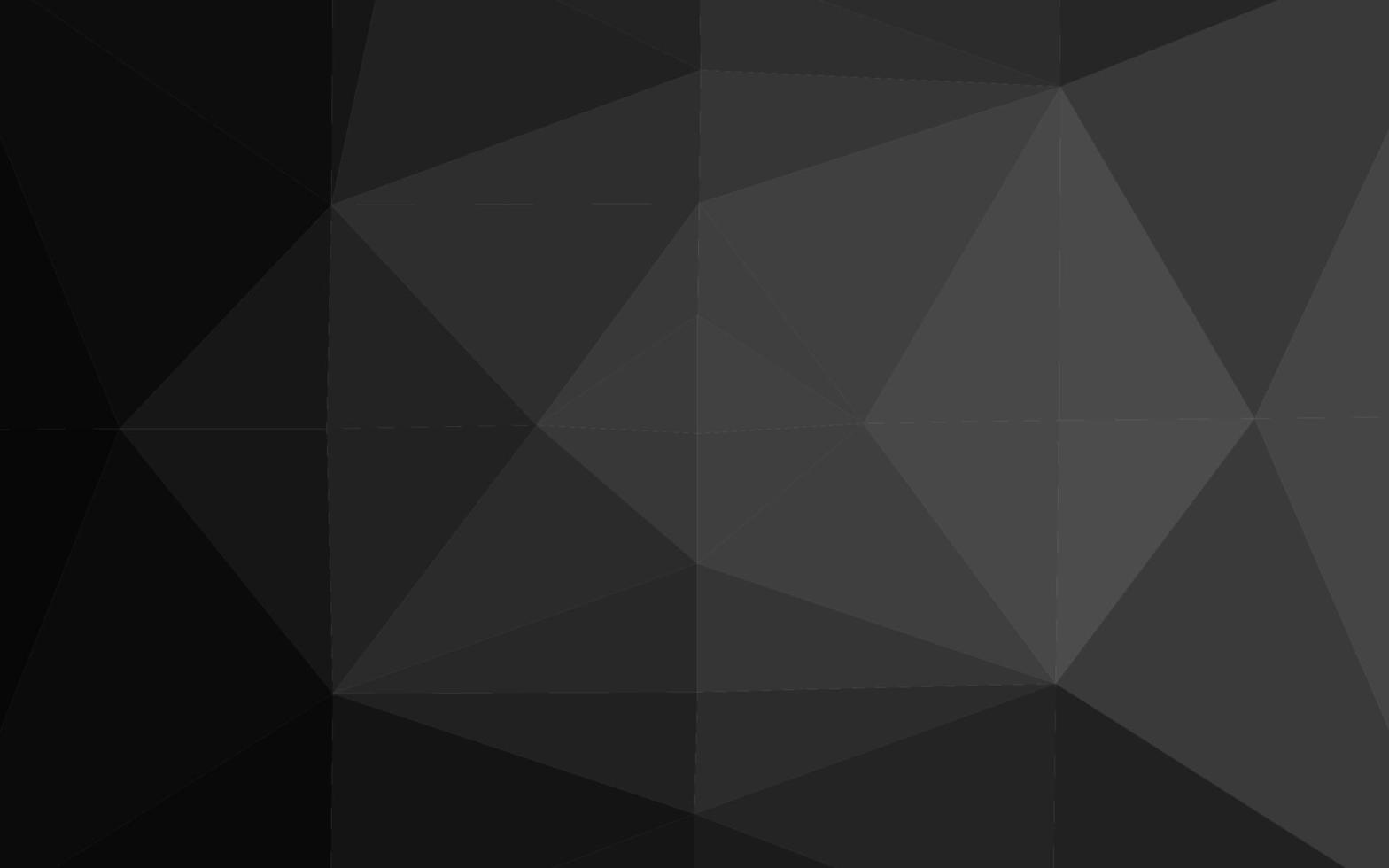 prata escura, padrão em mosaico abstrato cinza do vetor. vetor