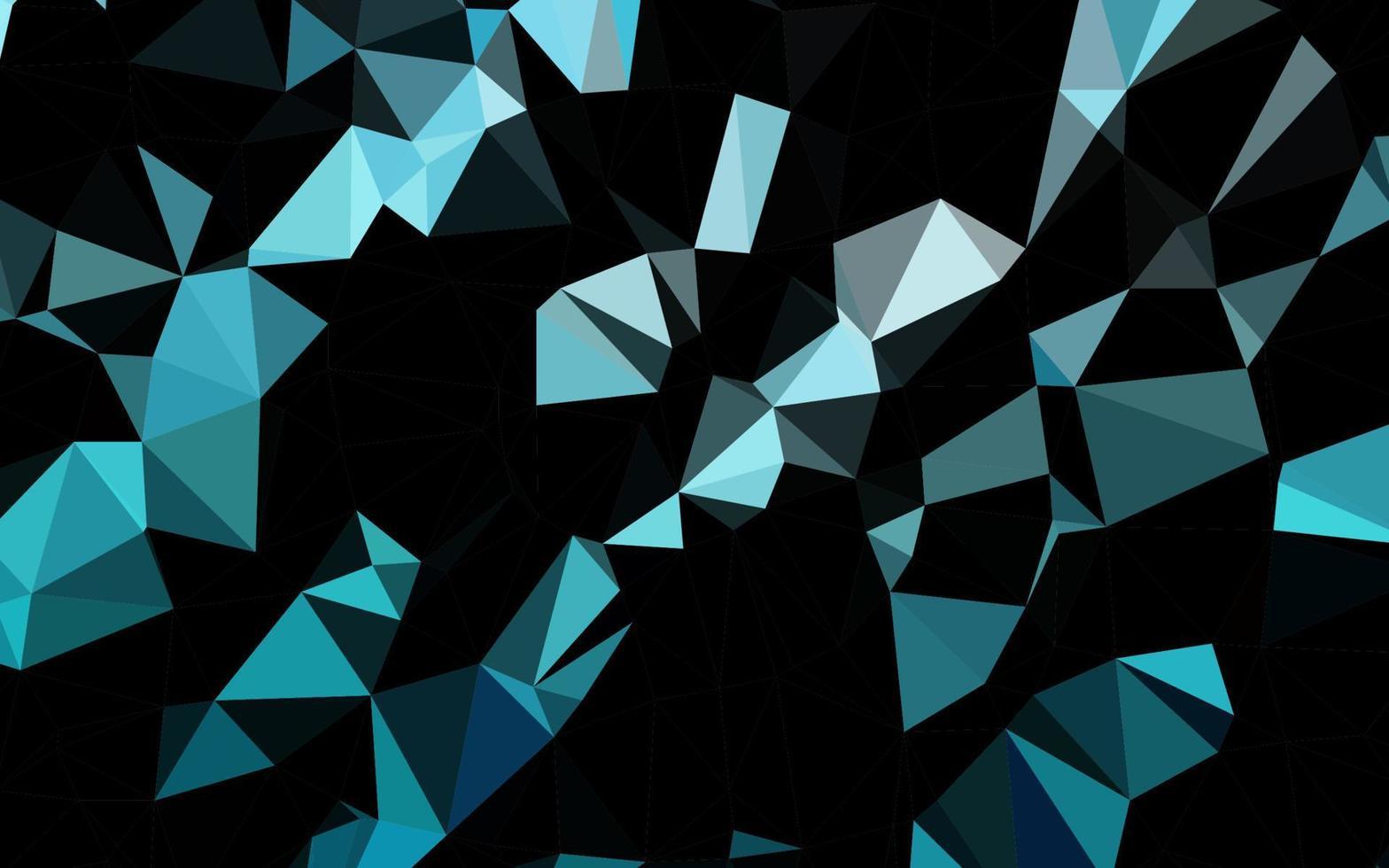 textura de baixo poli de vetor azul claro.