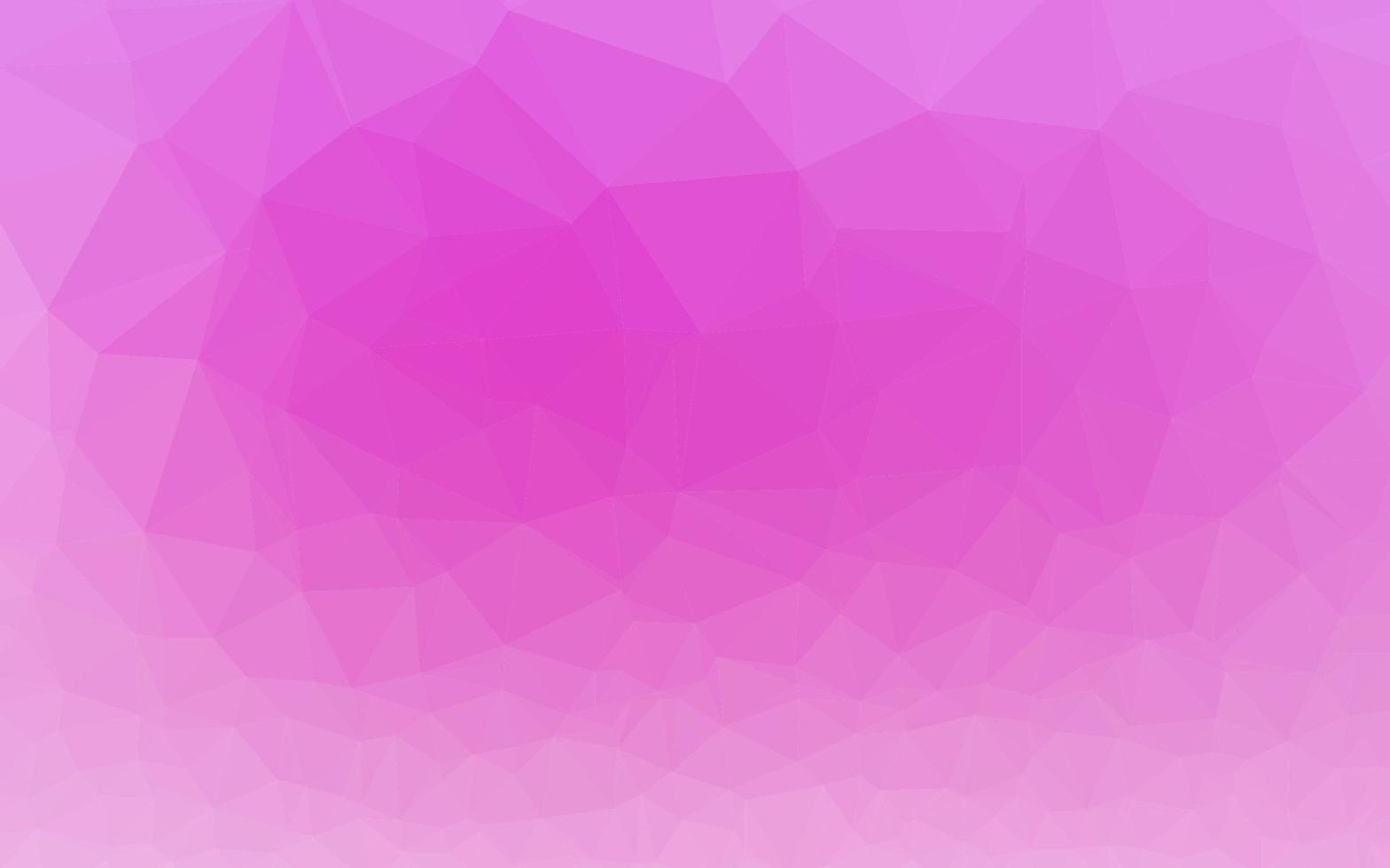 textura de baixo poli de vetor rosa claro.