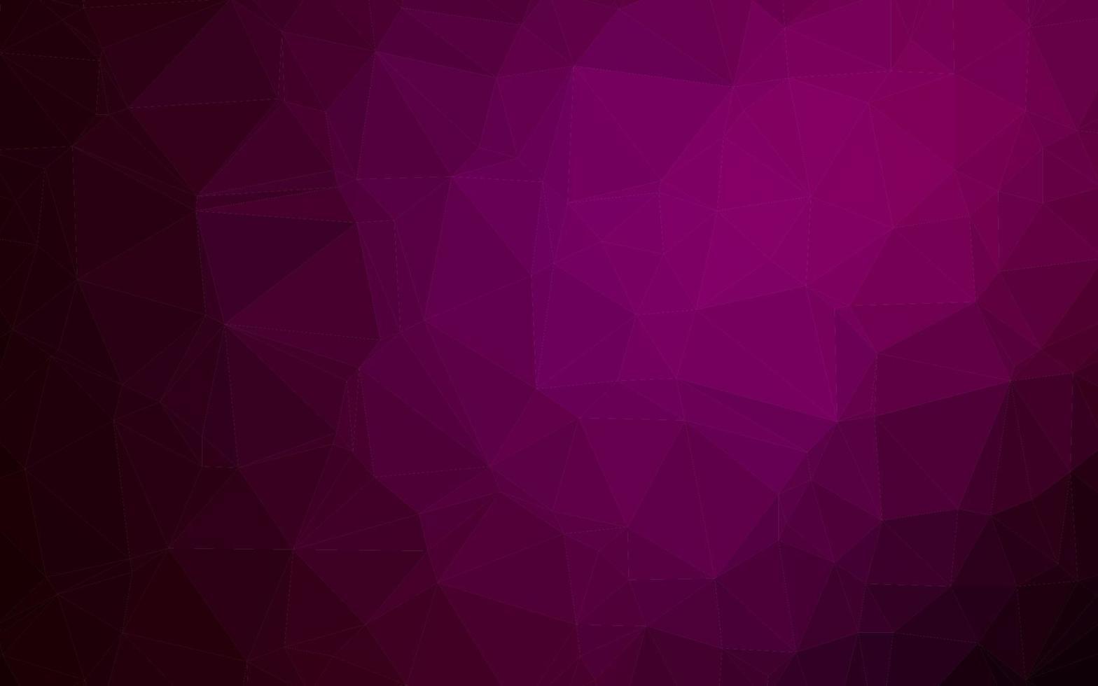 padrão de mosaico abstrato vetor roxo escuro.