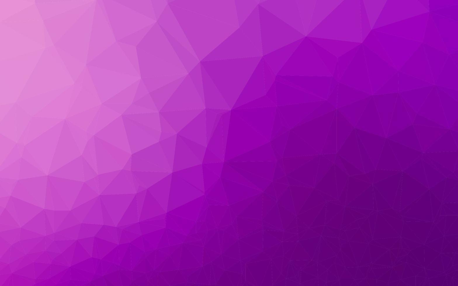 padrão de triângulo embaçado de vetor roxo claro.