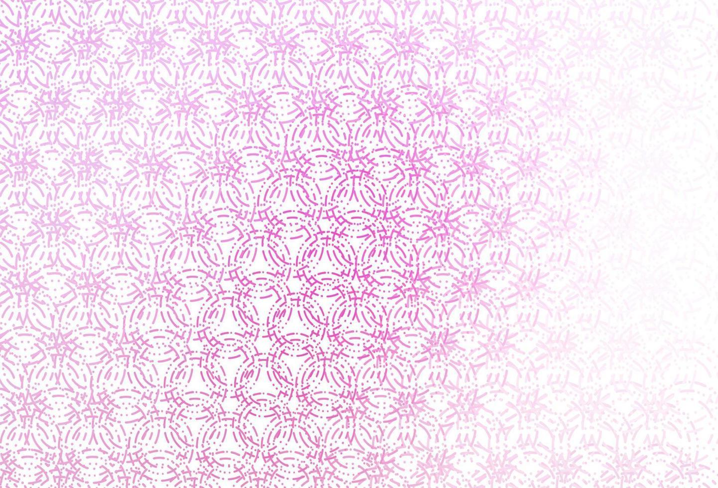 capa de vetor rosa claro com manchas.