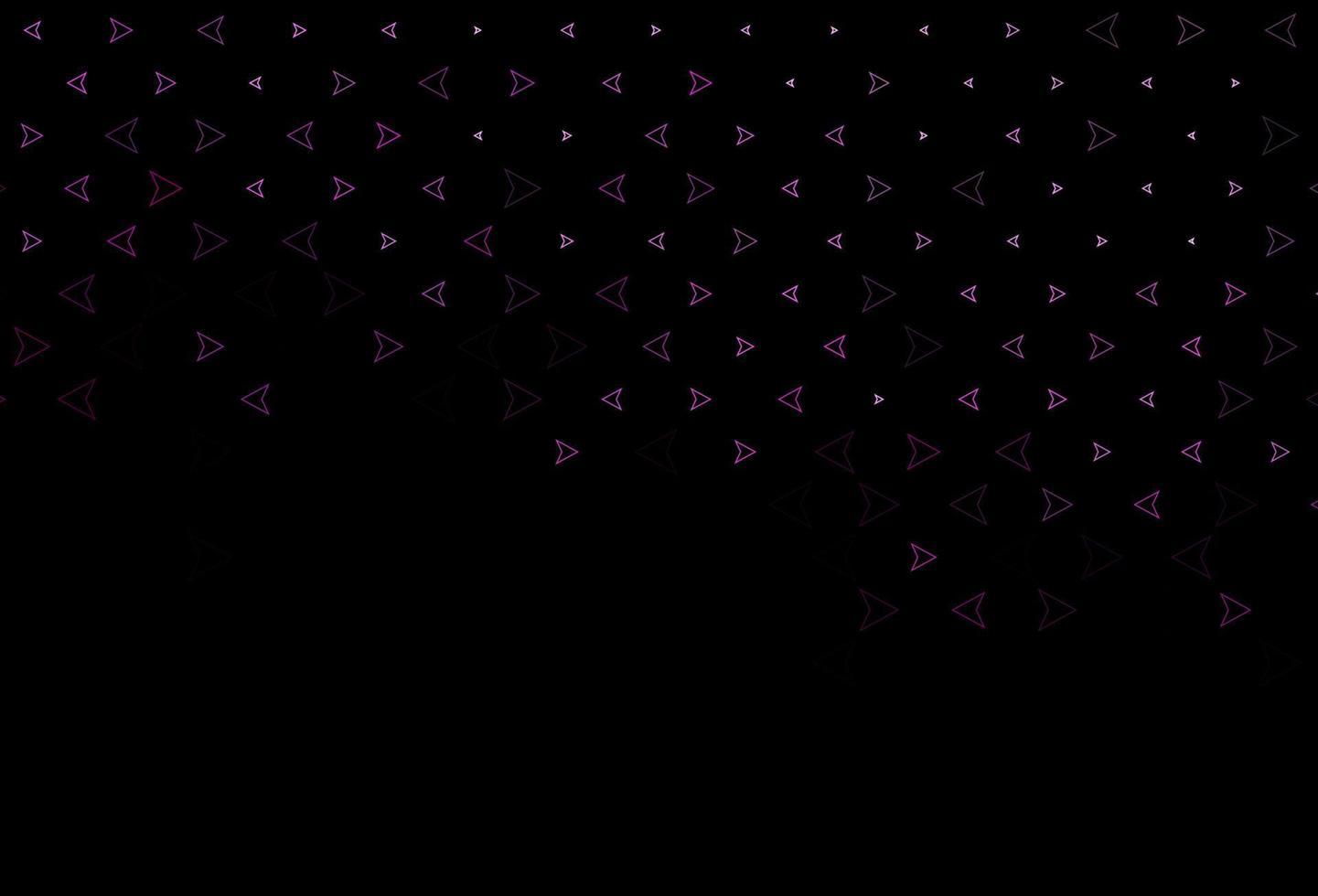 padrão de vetor rosa escuro em estilo poligonal.