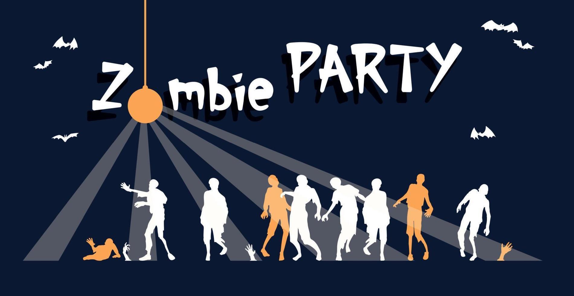 colorido brilhante web banner, parabéns pelo feriado de halloween vetor