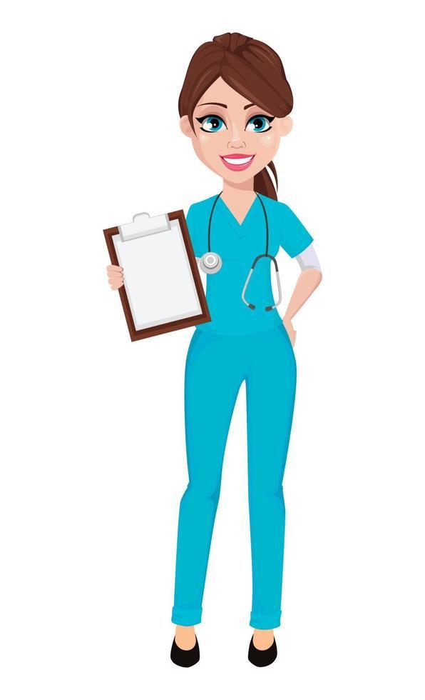 mulher do médico. medicina, conceito de saúde. vetor