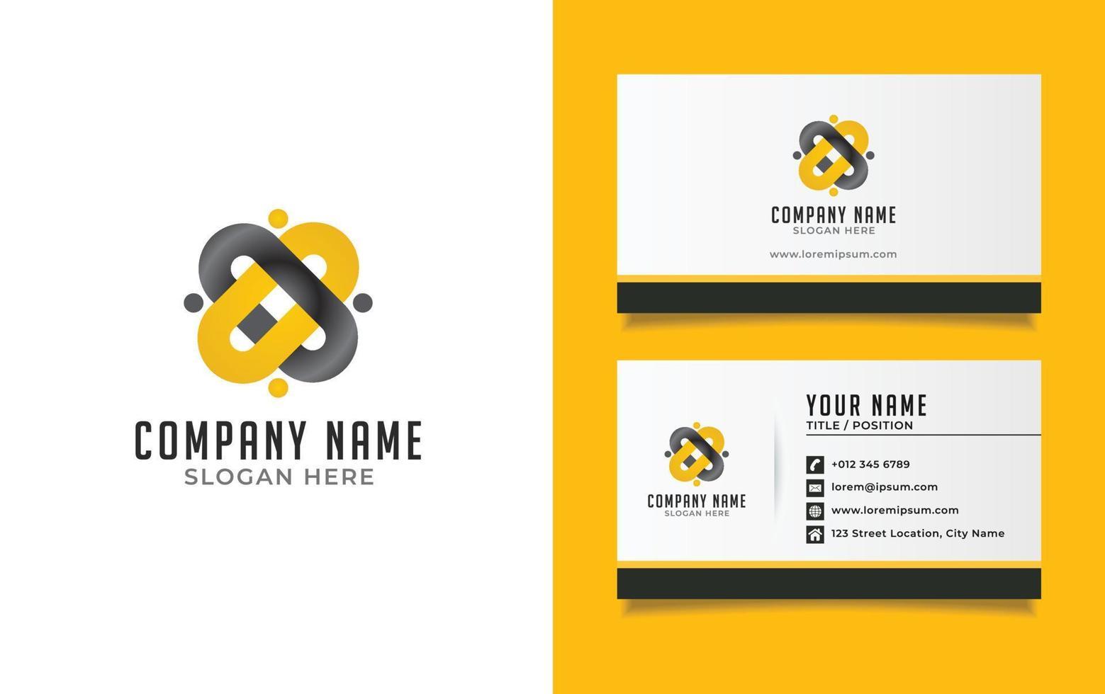 carta de logotipo x conceito de logotipo de trabalho em equipe, redes sociais, tecnologia e digital. vetor eps 10.
