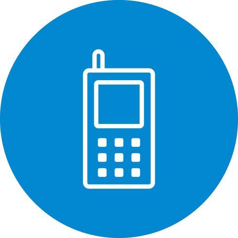 Ícone de vetor de telefone celular