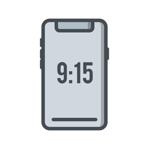 Ícone de dispositivo inteligente de vetor