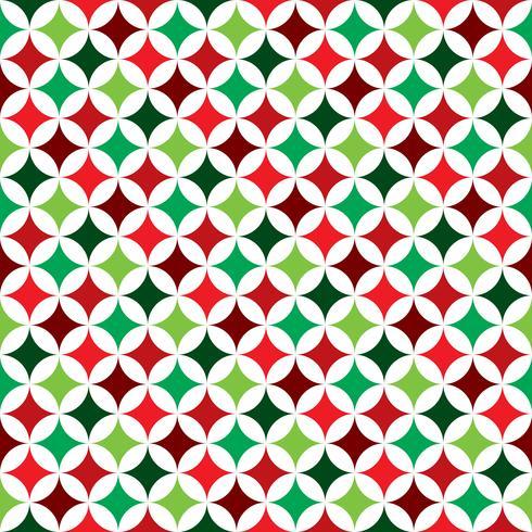 Vector a ilustração sem emenda do teste padrão em um tema do feriado do Natal no fundo branco.
