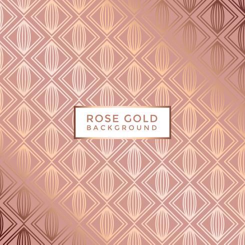 Vetor de fundo rosa de ouro
