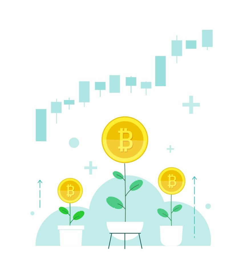 a taxa de criptomoeda bitcoin sobe. investir no comércio de câmbio de casa.3 plantas em vasos domésticos. vetor