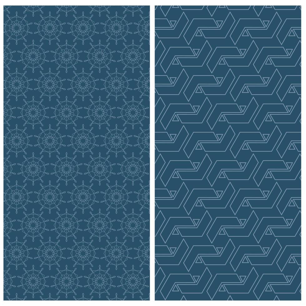 plano de fundo padrão sem emenda e design de padrão, formas abstratas vetor