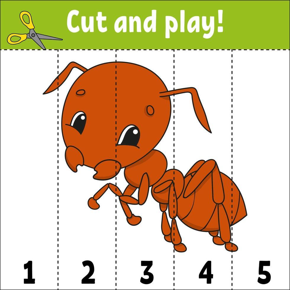 números de aprendizagem. planilha de desenvolvimento educacional. jogo para crianças. página de atividades. quebra-cabeça para crianças. enigma para a pré-escola. ilustração em vetor plana isolada simples no estilo bonito dos desenhos animados.