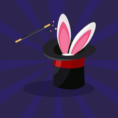 Jogo mágico do ícone, desenhos animados da ilustração do vetor. vetor