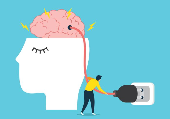 Carregar o cérebro vetor