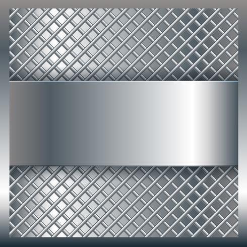 Fundo de textura de metal vetor