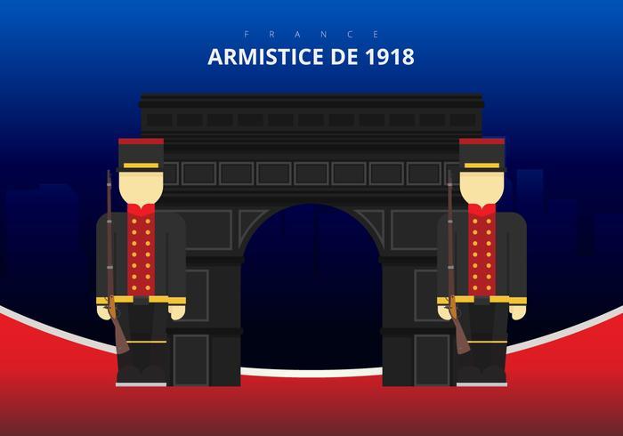 Bandeira abstrata de França e fundo preto. Bandeira francesa. vetor