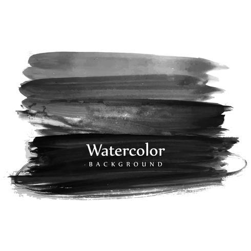 Fundo de traçado de pincel aquarela elegante vetor