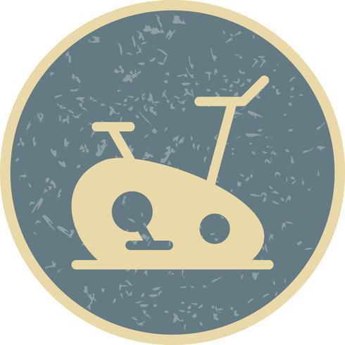 Exercício Bike Icon Vector Illustration