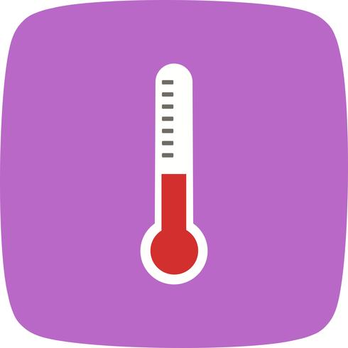 Ícone de termômetro de vetor