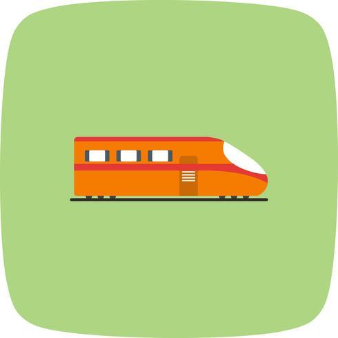 Ícone de trem de vetor