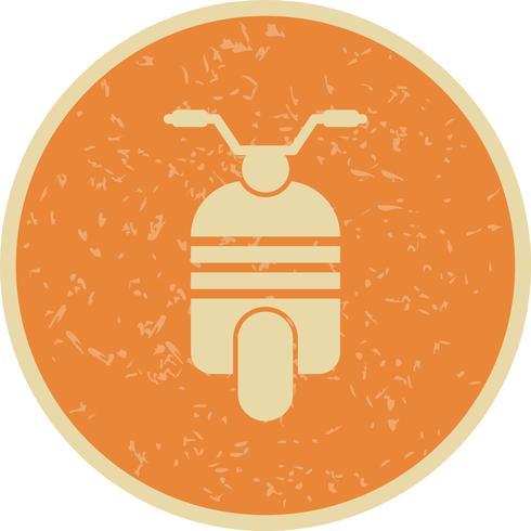 Ícone de scooter de vetor