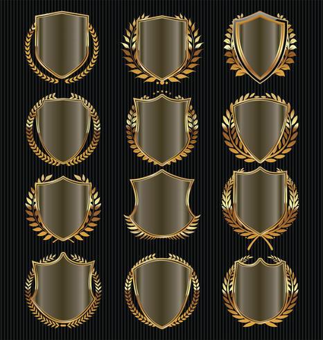 escudos vetor