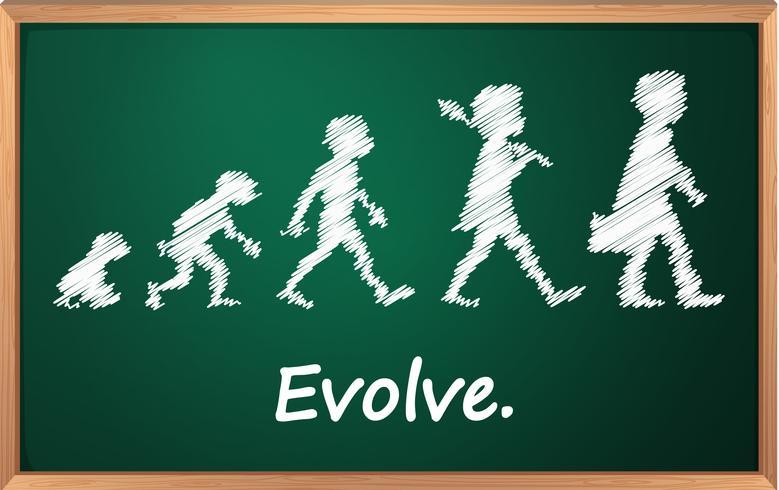 Evolução vetor