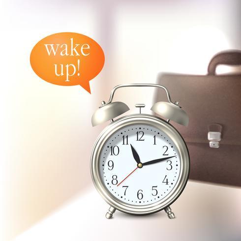 Fundo despertador vetor