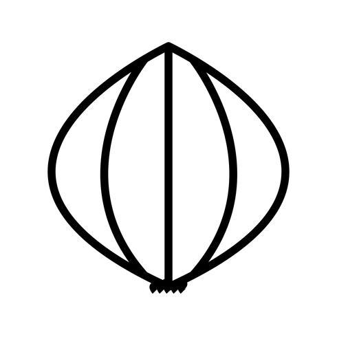 Vector ícone de alho