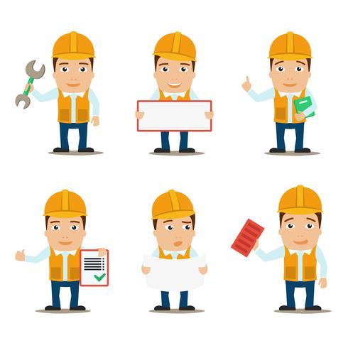 Conjunto de caracteres do construtor vetor